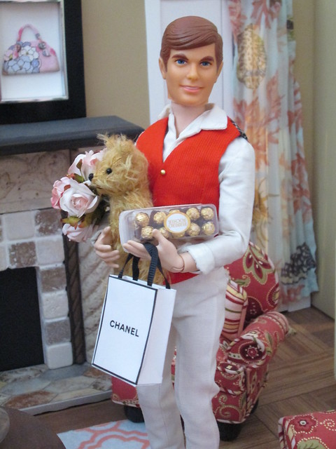 Happy St. Valentine's day, Barbie!