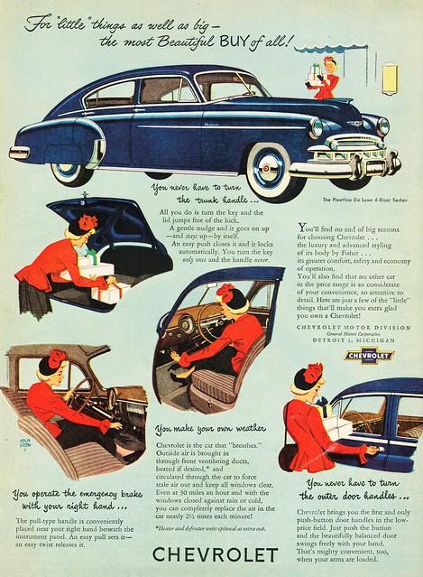 1949 Chevrolet Fleetline DeLuxe 4-Door Sedan