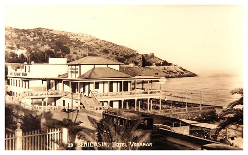 Foto del Hotel Voramar en 1950
