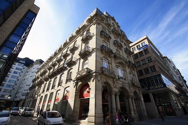 Vigo edificio simeon puerta del sol flickr photo for Edificio puesta del sol