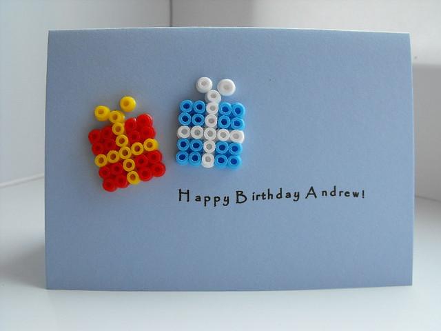 Birthday Card Hama Beads These Beads Are Everywhere