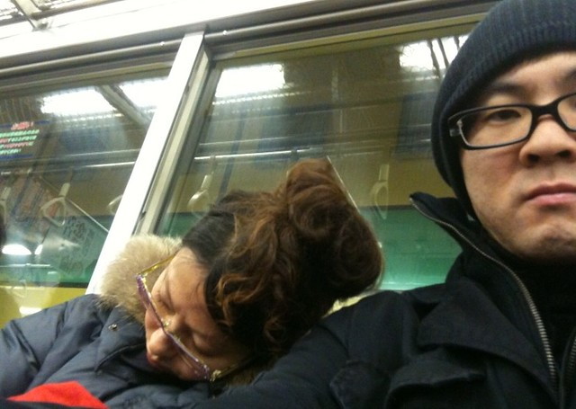Japan Train Sleeping