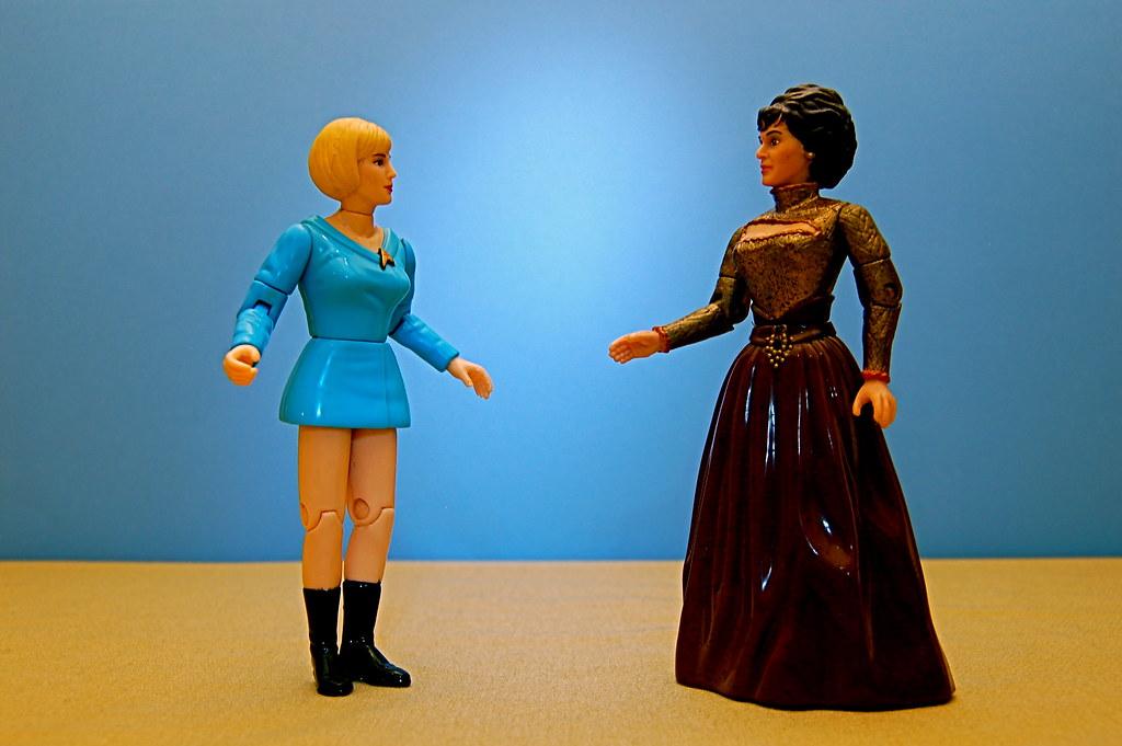 Nurse Chapel vs. Lwaxana Troi (13/365)