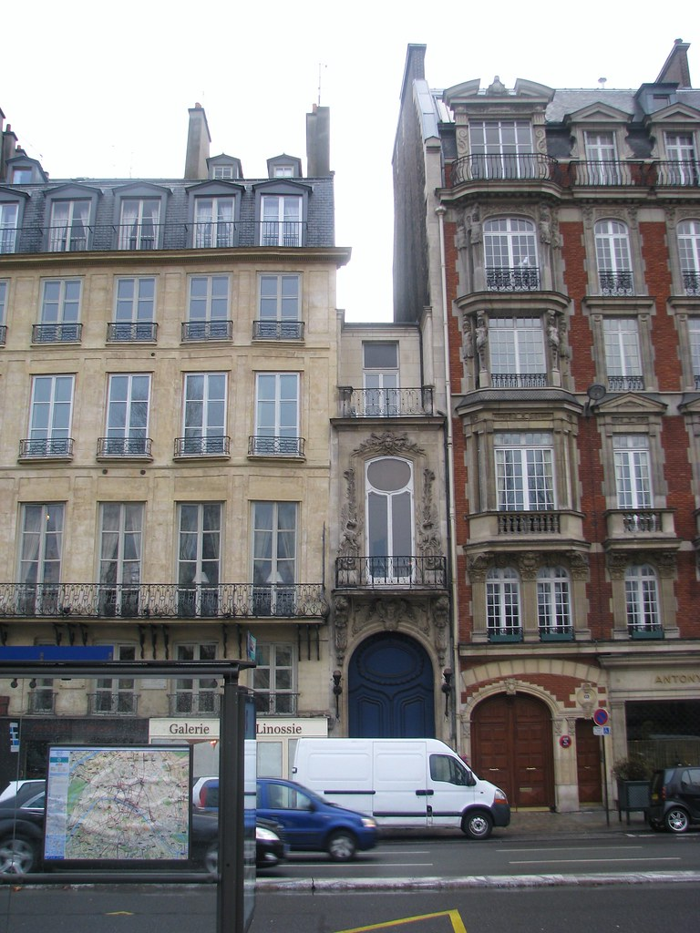 Superb Smallest House In Paris Or At Least The Narrowest 2 Meter Download Free Architecture Designs Terstmadebymaigaardcom