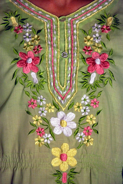 Peasant Blouse Embroidery Pattern 60