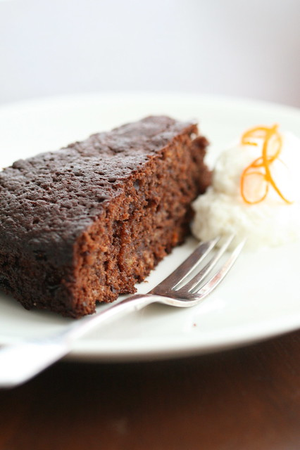 Chocolate and orange cake / Šokolaadikook apelsinimarmelaadiga