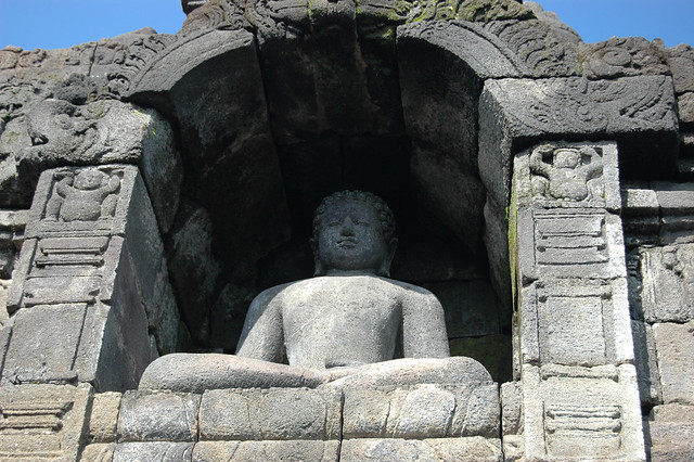 Buddah in alcove