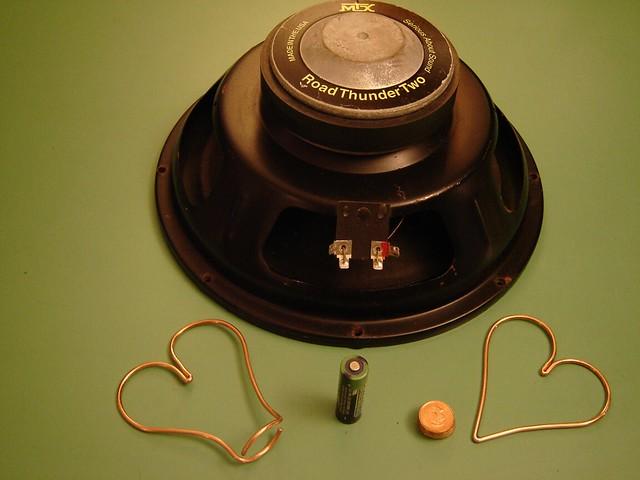 Pair of hearts homopolar motor flickr photo sharing for Homopolar motor science project
