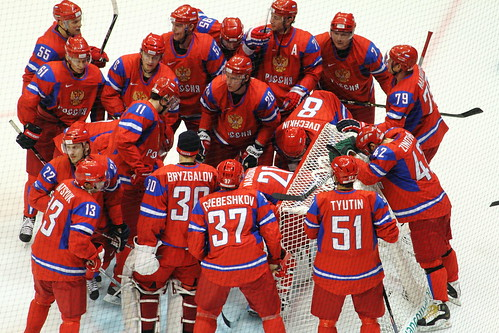 RUSSIAN OLYMPIC HOCKEY TEAM