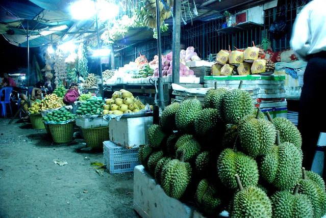 Night Market in Battambang by CC user Damian @ Flickr on Flickr