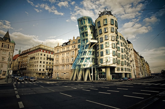 "The Dancing House (""Ginger and Fred"" House) [Prague, Czech Republic]"