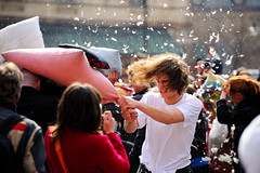 Warsaw Pillow Fight 2010