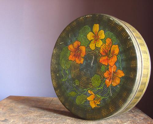 Vintage Round Tindeco Tin