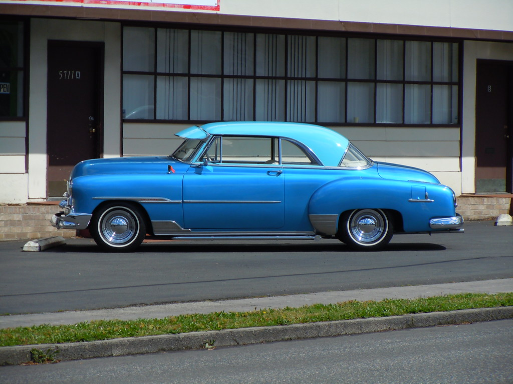 Coupe 1951 chevy coupe parts 1951 Chevrolet Bel Air 2-Door Hardtop Sport Coupe - a photo on ...