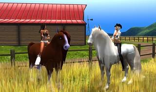 Aileen & Mimi @ Amaretto Ranch