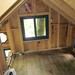 Sleeping loft toward rear