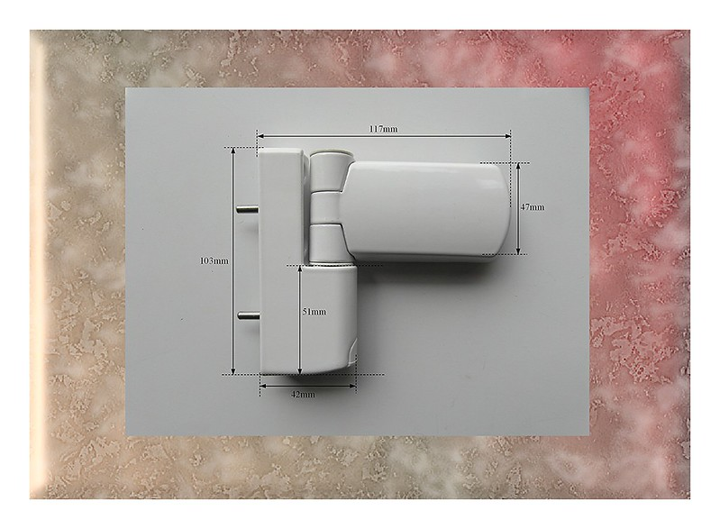 Upvc Door Hinge Trojan 3 D White Flag Hinge For Upvc Door