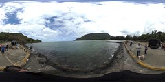 From the makai end of the Kahana Bay Boat Launch - a 360° Equirectangular VR