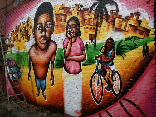 Bloombars mural