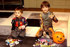 optimus and bumblebee with their energon caches    M…