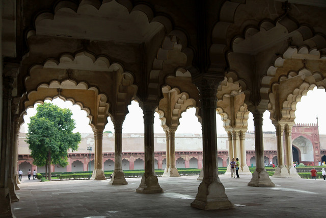 agra fort red fort