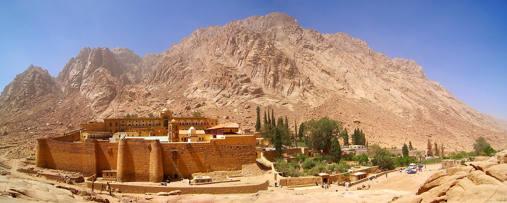 Saint Catherine's Monastery in the Sinai