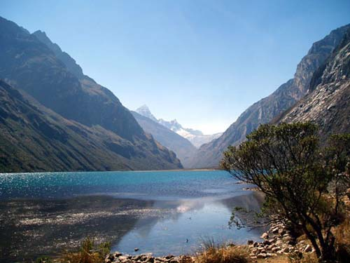 Mountains of the Cordillera Blanca, Peru