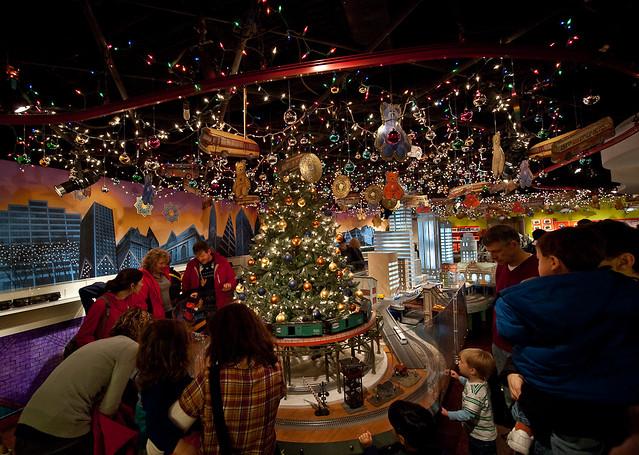 mercado de navidad en Nueva York Grand Central Terminal