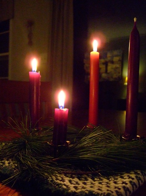 advent wreath week 3 flickr photo sharing. Black Bedroom Furniture Sets. Home Design Ideas