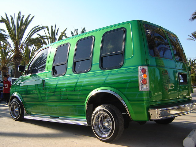 Lowrider Vans http://www.flickr.com/photos/44475832@N05/4196947976/