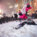 Snowstorm and snowball fight in Times Square, Manhattan, New York (larger size) by Dan Nguyen @ New York City