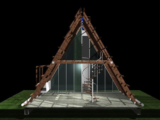 Casa ecol gica prefabricada img 18 explore el art fice - Casa ecologica prefabricada ...