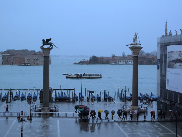 Flooded St Mark's Square