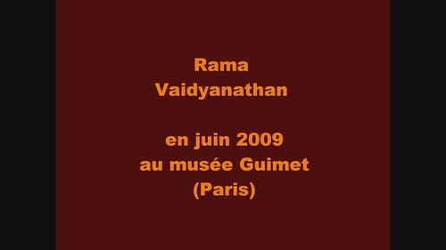 Rama Vaidyanathan au musée Guimet