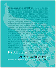 The Village of Merrick Park Opening Ads ()