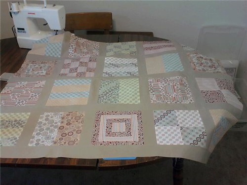 four rows pieced jan 2010