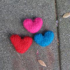 art, pattern, heart, heart, red, pink,