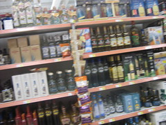 Liquor in Grocery Store
