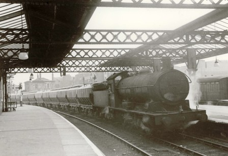 Locomotive, West Hartlepool Station by Museum of Hartlepool