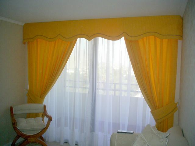 Cortina cenefa cortina con cenefa en detalle de cordon i - Cenefas para pared ...