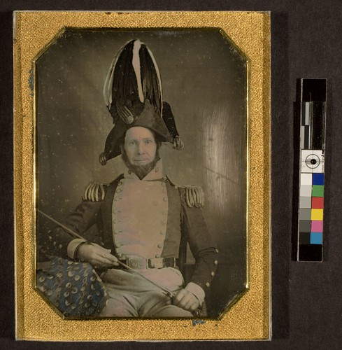 Portrait of General Daniel D. Minier, New York State Militia