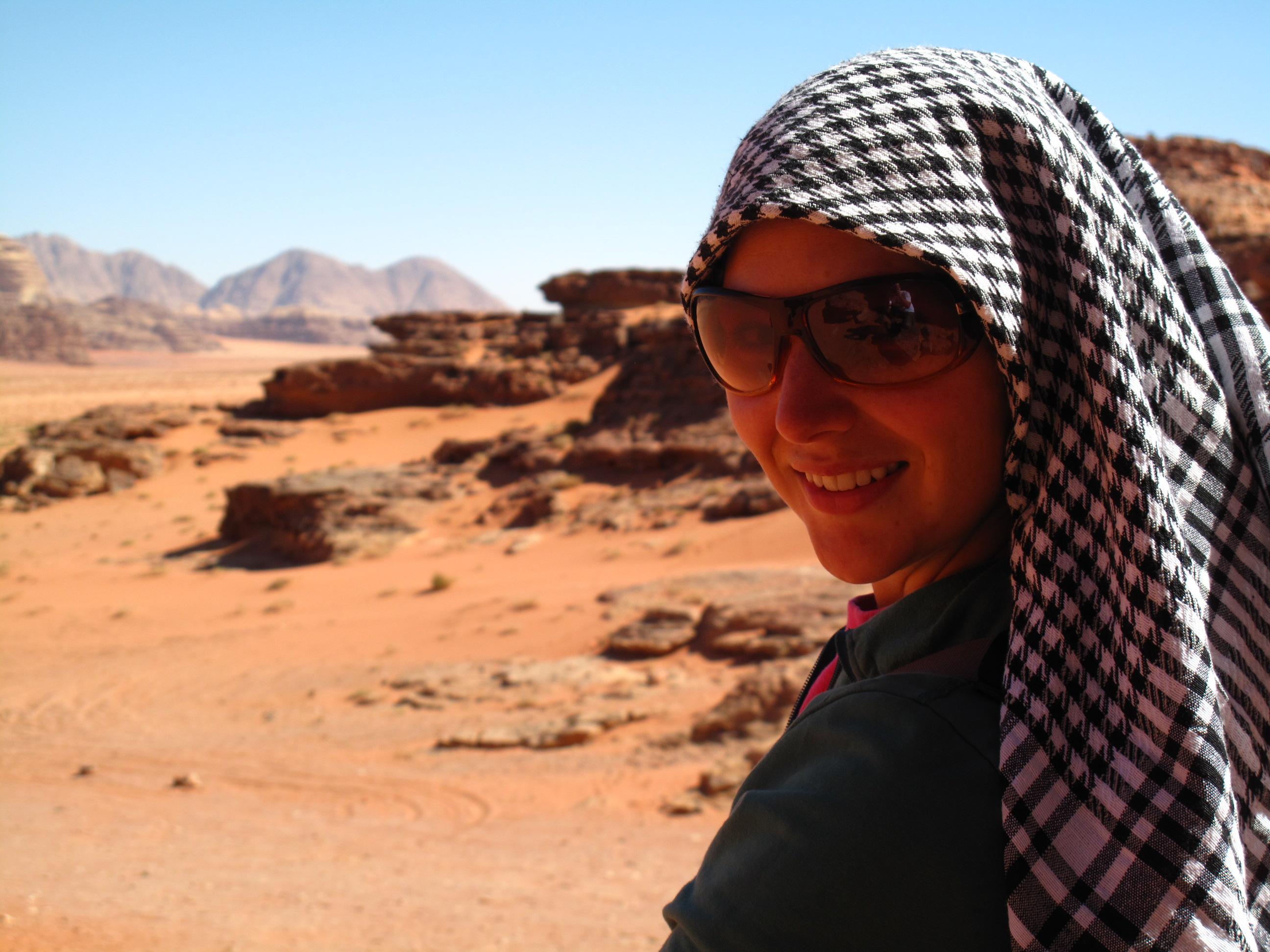 Exploring Wadi Rum in Jordan