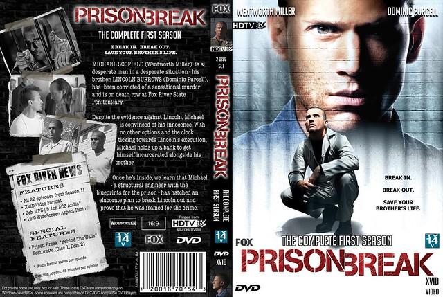 Prison Break Season 1 Dvd Cover Art Kelvin Lam Flickr