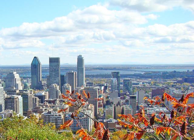 Montreal View by CC user puertodelacruz on Flickr