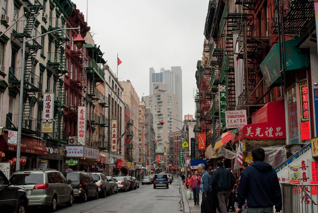 Go Living In Chinatown New York