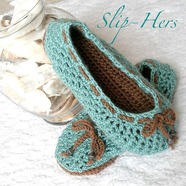 Free Crochet Patterns For Childrens Slipper Boots : Crochet pattern kids and womens ballet slippers Flickr ...