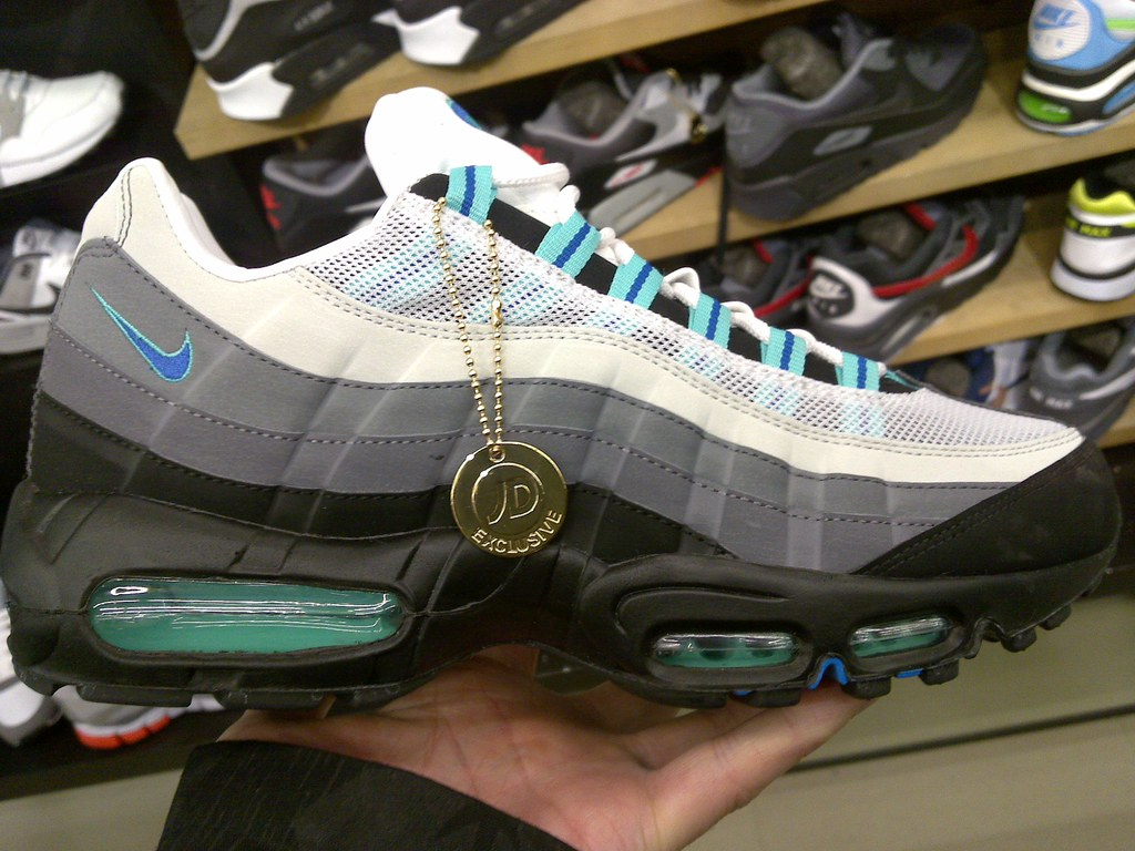 finest selection cb485 88c80 ... order nike air max 95 jd sports exclusive cool mint 10. adf2c 06775