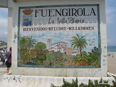 Fuengirola sign