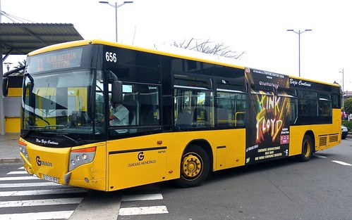 8709 HFK 'Guaguas Municipales' No. 656 MAN / Carsa on 'Dennis Basford's railsroadsrunways.blogspot.co.uk'
