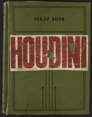 Harry Houdini Scrapbook [Front cover]